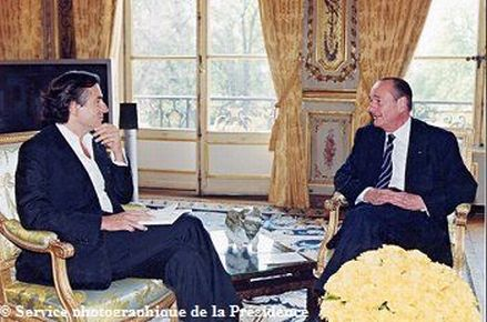 Levi con Giscard